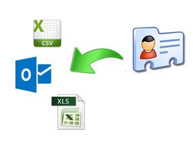 Import vCard files in different file formats | vCard Import Tool